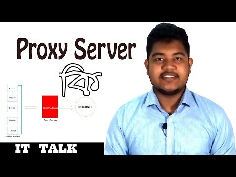 What is Proxy Server(Bangla)।Explained। IT TALK