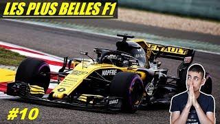 LES PLUS BELLES F1 - Années 2010