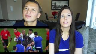 Football Respect | Beautiful Moments | Couple Reacts!!