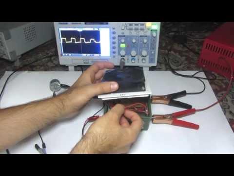 DC Motor Speed Control via Pulse Width Modulation (PWM)