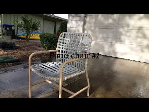 Pressure Washing Patio Furniture [1080p HD]