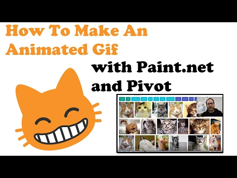How to Make Animated Gifs with Paint.net and Pivot part 2