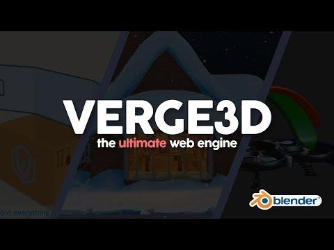 Verge3D: The Ultimate Blender Web Engine