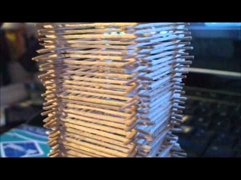 152 Story Toothpick Tower