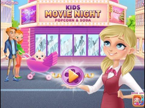 Kids Movie Night - Popcorn & Soda Part 1 - best app games for kids - TabTale