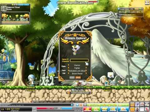 Maplestory Ultimate Adventurer Create and Skills