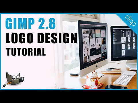 How to design a business Logo using GIMP 2.8 - DCP Web Designers Tutorial
