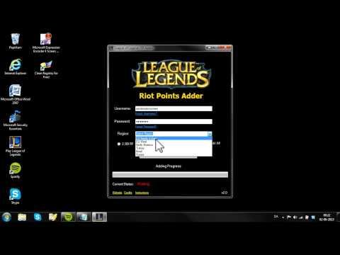 league of legend rp adder no survey no password