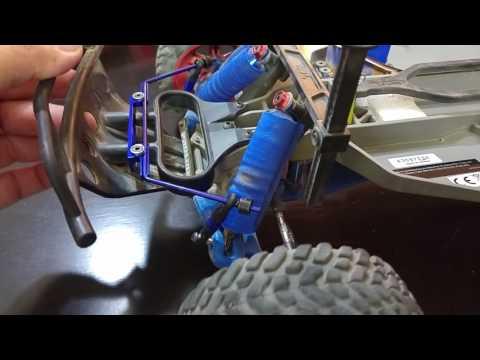 Hot racing sway bar kit installation on Slash 2wd