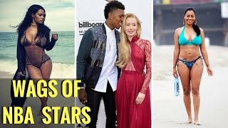 TOP 10 HOTTEST NBA Players Wives and Girlfriends   WAGS of NBA Stars 2017