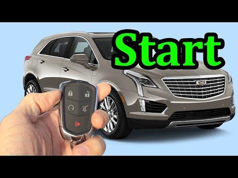 Cadillac remote start, how to start XT5 CTS SRX ATS XTS Escalade 2014-2018