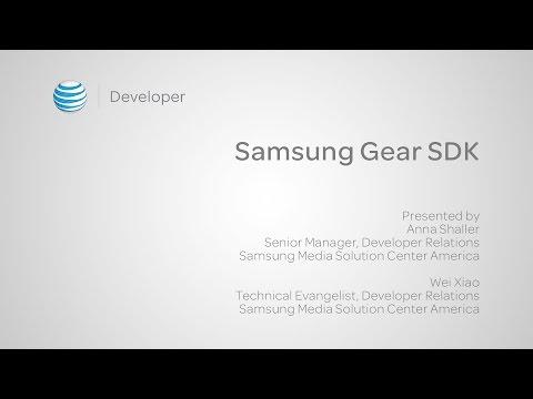 Samsung Gear SDK - Presented by Samsung