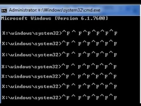 How to Repair  Administrator: X:\windows\system32\cmd.exe