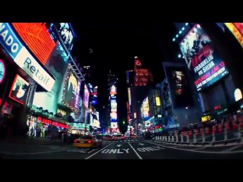 Driving Through Time Square NYC
