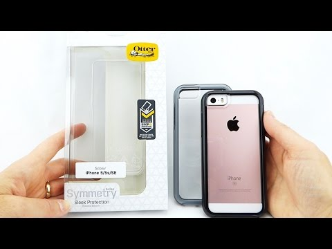 Show off your iPhone SE with the *New* Beautifully Protective OtterBox Symmetry Clear!