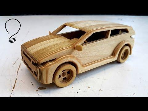 Wooden Range Rover Evoque - Toy Car