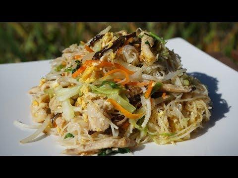 Singapore Fried Noodles - Mei Fun - Morgane Recipes