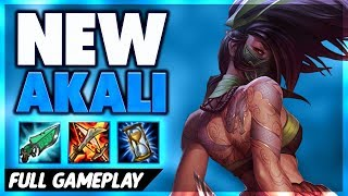 REWORKED AKALI PENTAKILL | FULL GAMEPLAY - BunnyFuFuu