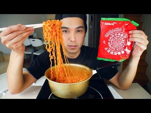 New Korean Sriracha Ramen