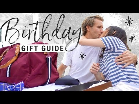 WHAT I GOT MY BOYFRIEND FOR HIS BIRTHDAY!  men's gift guide!!
