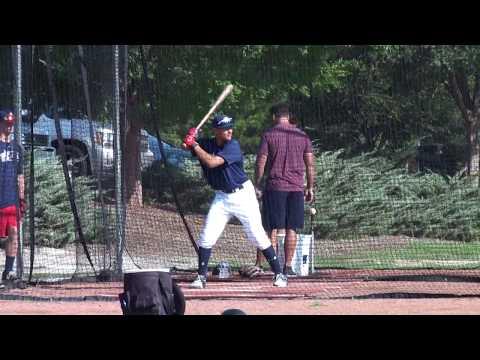 Xavier Cruz - OF/RHP - Class of 2020 - USA Baseball NTIS 16u Batting Practice