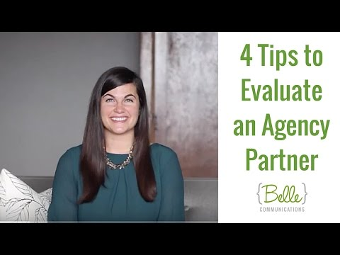 4 Tips to Evaluate an Agency Partner