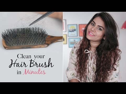 How To Clean Hairbrushes Quick & Easy - Daily Life Hacks - Glamrs