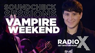 Download Vampire Weekend break down This Life, Harmony Hall, and more | Soundcheck Session | Radio X Video
