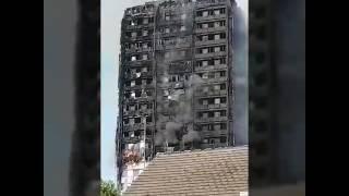 Grenfell tower fire ! 14/06/2017