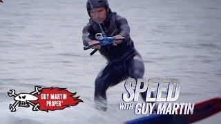 Guy's Foil Board Training   Guy Martin Proper