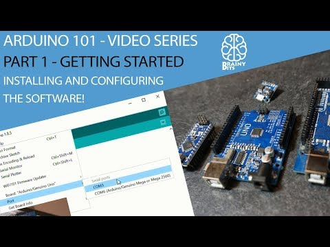 Arduino How To? - The 1st step: Install and configure the ARDUINO IDE Software