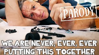 Download We Are Never Ever Putting This Together // Taylor Swift Parody feat. What's Inside Video