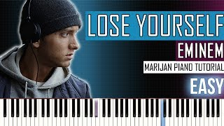 How To Play: Eminem - Lose Yourself | Piano Tutorial EASY + Sheets
