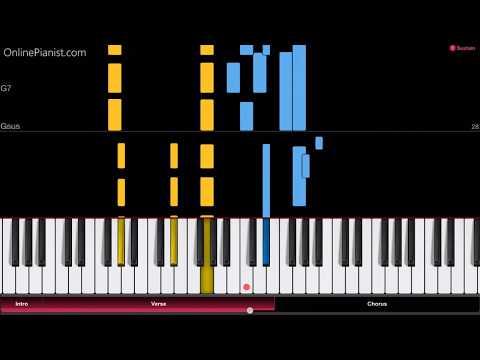 Bloody Stream - Jojo's Bizarre Adventure (Opening 2) - Piano Tutorial