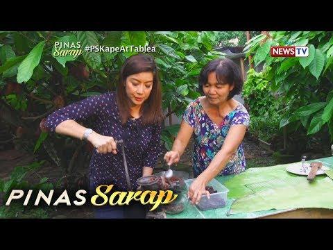 Pinas Sarap: Kara David, natutong gumawa ng tablea sa Batangas