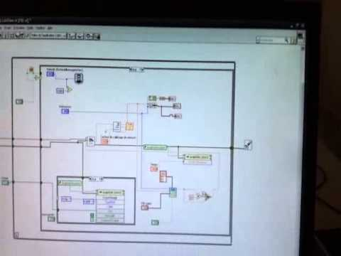 DC Motor PID Speed Control based on LabVIEW
