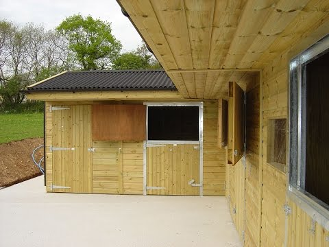 Wooden Stable Blocks