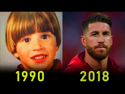 Sergio Ramos - Transformation From 2 To 32 Years Old