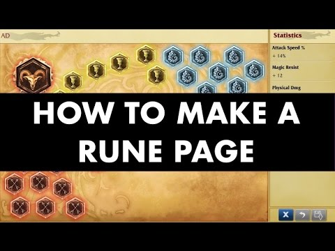 How to make all types of standard rune pages guide-League of Legends