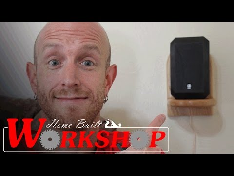 How to Build Surround Sound Speaker Shelves