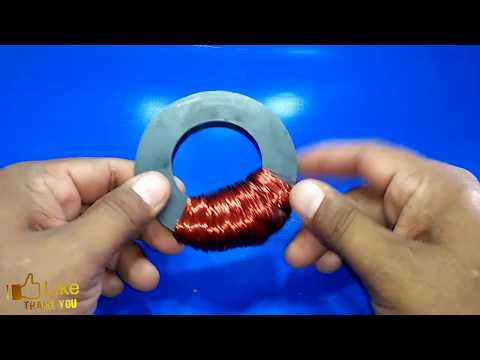 how to make free energy generator at home with magnet 1000% working