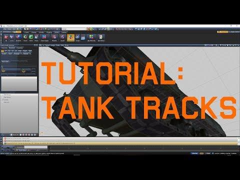 [Tutorial V]How to make proper tank tracks for GTA V using ZModeler 3