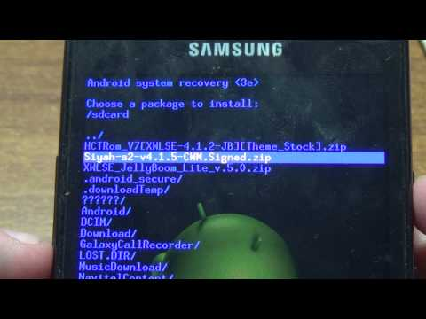 How to install Clockworkmod Recovery(CWM) On Samsung Galaxy S2 (I9100)