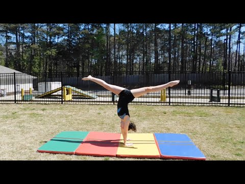 How to do a Back Handspring Without a Spotter