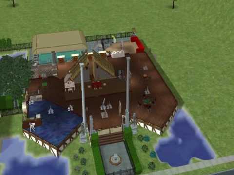 Sims 2 Luxury House (SUB4SUB)