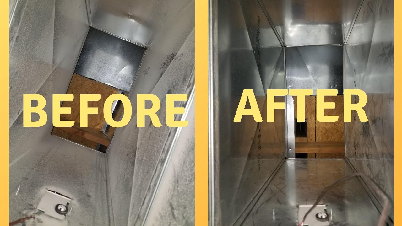 Duct Cleaning BEFORE AND AFTER: Does duct cleaning work?