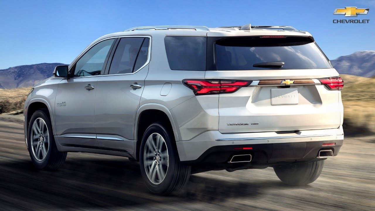 2022 Chevrolet TRAVERSE SUV - Interior and Exterior (7-Seater)