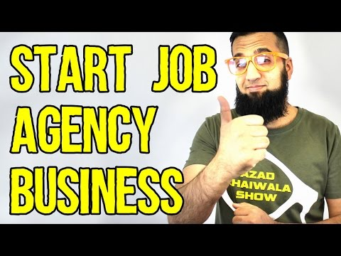 Start Your Own Job Agency Business Idea | Easy Business Ideas in URDU HINDI | Azad Chaiwala Show