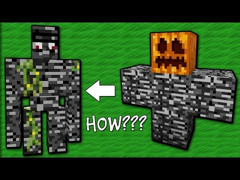 Only 1% of People Can Kill the Bedrock Golem - Minecraft Machinima
