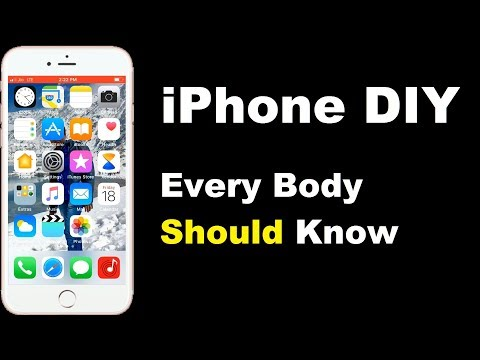 iPhone DIY Every Body Should Know iPhone Essential Tips 2017